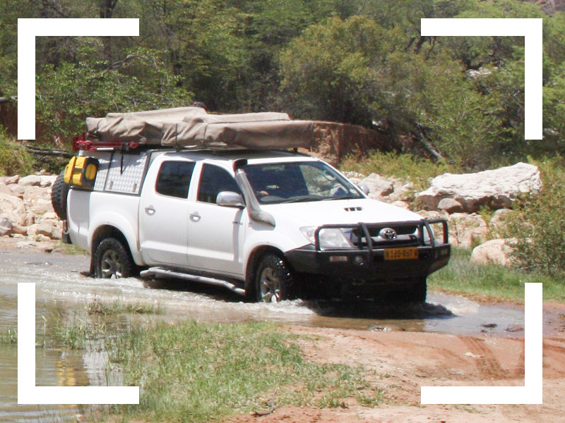 Autohuur-Namibie-Extra-Opties-Navigatie en Communicatie-4x4-training